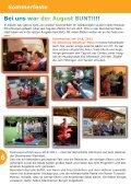 Wenn einer eine Reise tut - bei der Lebenshilfe in Hanau - Seite 6