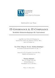 IT-Governance & IT-Compliance - Fachbereich ...