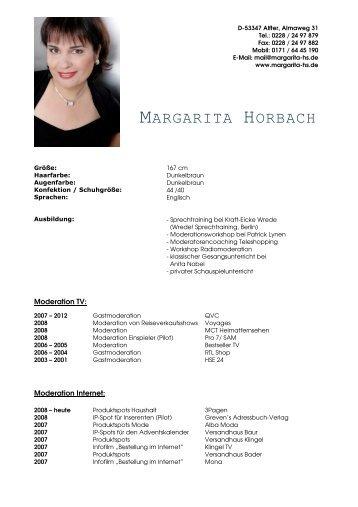 MARGARITA HORBACH