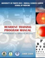 training manual-digital - School of Medicine - Universidad de Puerto ...