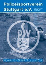Polizeisportverein Stuttgart e.V. - Karate Stuttgart