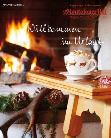 Auch im Winter! - Hotel Montafoner Hof