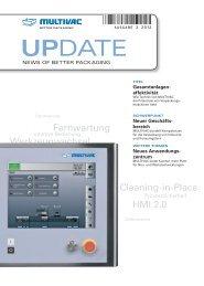 MULTIVAC Kundenmagazin UPDATE - 2-2012 - PDF herunterladen