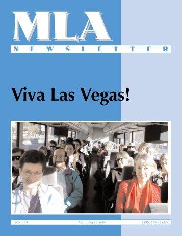 Viva Las Vegas! - Music Library Association