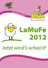 LaMuFe 2012 LaMuFe 2012 - Niedersächsische Landjugend
