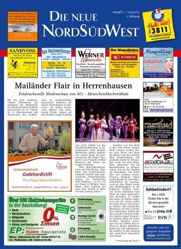 Ausgabe 02 vom 14.03.2011 - Die neue NordSüdWest