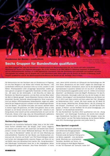Sechs Gruppen für Bundesfinale qualifiziert - NTB
