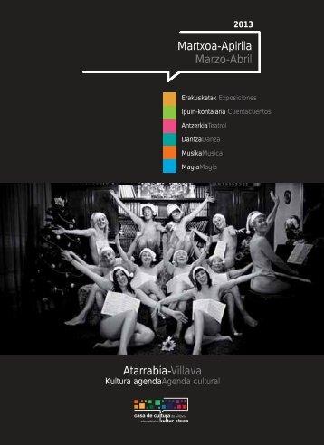 Martxoa-Apirila Marzo-Abril