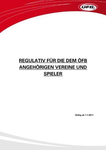 ÖFB-Regulativ