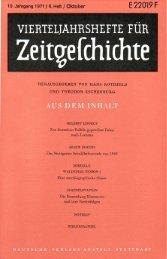 Heft 4 - Institut für Zeitgeschichte