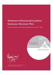 Wettbewerb Mittelstandsfreundliche Kommunen Rheinland ... - Inmit