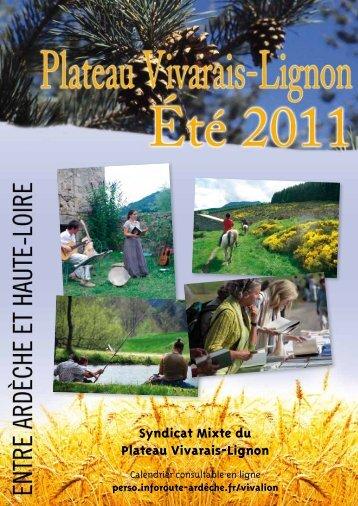 Syndicat Mixte du Plateau Vivarais-Lignon - Office de tourisme du ...