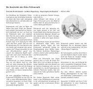 Die Geschichte des Ortes Pettenreuth