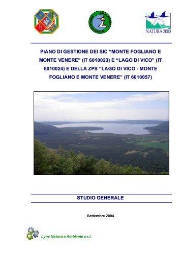 Studio generale - Provincia di Viterbo