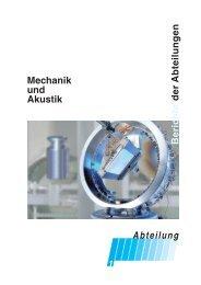 Abteilungsleiterbericht als PDF - PTB