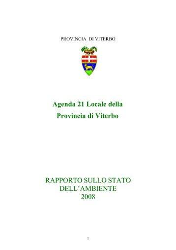 Caratterizzazione del Territorio - Provincia di Viterbo