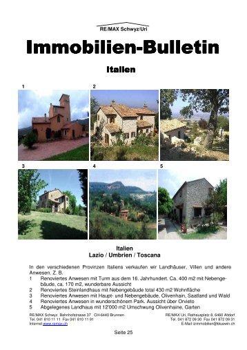 Immobilien Immobilien-Bulletin