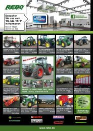Besuchen Sie uns in Wüsting - Rebo Landmaschinen GmbH