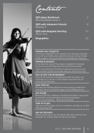 April 2012 - Queensland Symphony Orchestra