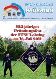 Informationsblatt-2011-07 - Markt Pförring