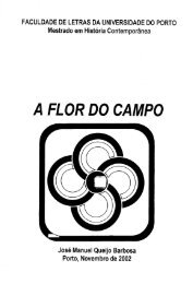A FLOR DO CAMPO - Repositório Aberto da Universidade do Porto