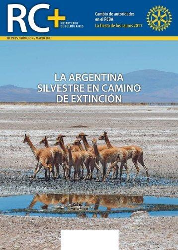 la argentina silvestre en camino de extinción - Rotary Club Buenos ...