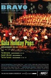 Bravo 3 - Rochester Philharmonic Orchestra