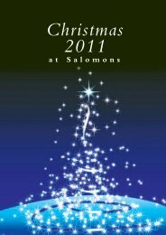 Download our Christmas Brochure - Salomons