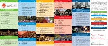 Veranstaltungen und Höhepunkte 2013 - Sächsisch-Bayerisches ...