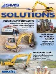 Volker stevin contracting - SMS Solutions Magzine