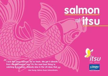 salmon itsu
