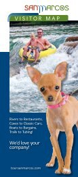 Visitor's Guide - San Marcos Convention and Visitor Bureau