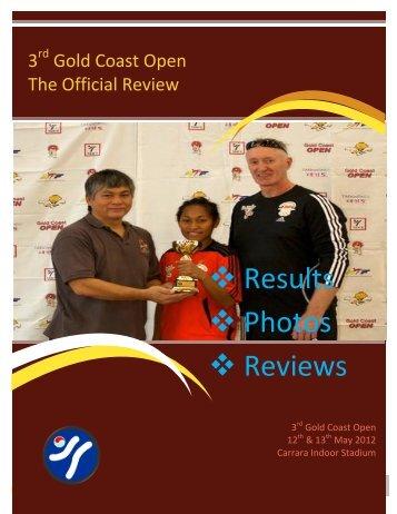 2012 Results Magazine - Tans Taekwondo