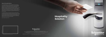 Hospitality Solution - Schneider Electric