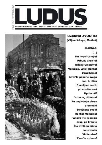 ludus103 - Udruženje dramskih umetnika Srbije