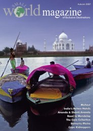 Magazine Autumn 2007.pdf - Small World Travel