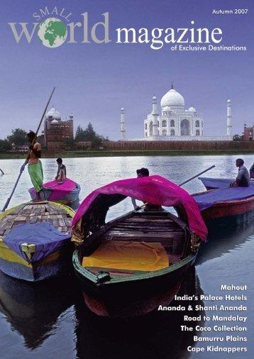 Magazine Autumn 2007.pdf - Small World Travel