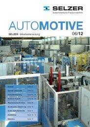 SELZER Mitarbeiterzeitung AUTOMOTIVE 06-2012