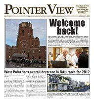West Point sees overall decrease in BAH rates for 2012