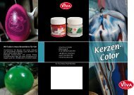 Kerzen- Color - Viva Decor