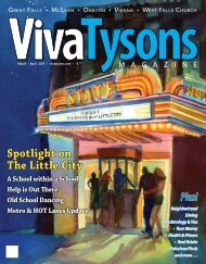 March-April - Viva Tysons Magazine