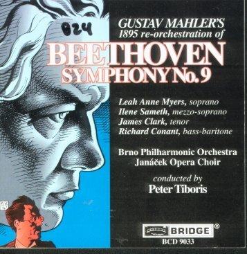 Mahler and Beethoven - Symphony No. 9.pdf - Walter Cosand