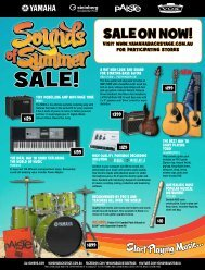 SALE ON NOW! - Vivace Music