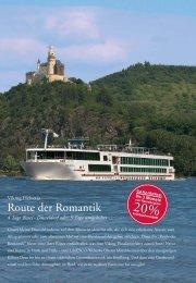Route der Romantik - Viking Flusskreuzfahrten