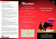 PIANOS Sponsored by - Vivace Music