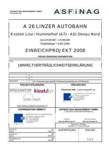 A 26 LINZER AUTOBAHN - Westring
