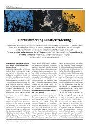 Bericht Kulturjournal Aus. Juni/Juli 2011 - Die Villa Rosenthal