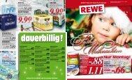 Musterseiten Rewe - WK Warenhaus