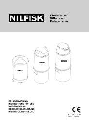 823 0001 020 CV NILFISK EXPORT ed 1.p65 - Nilfisk PARTS ...