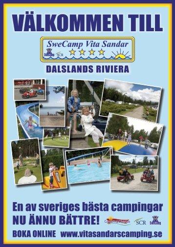 En av sveriges bästa campingar NU ÄNNU BÄTTRE! - Vita Sandars ...